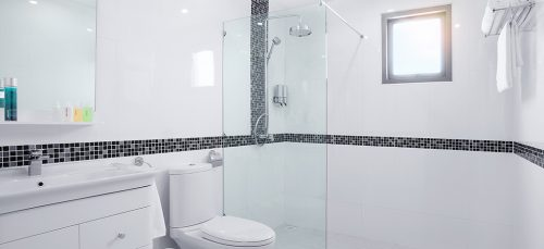 Gloss White Wall Tile (Rectified) 30x60cm