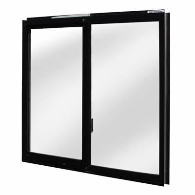 Black Window Frame