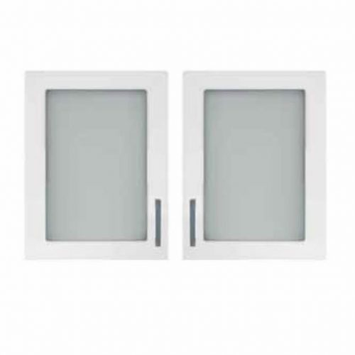 Glass Doors - Gloss White