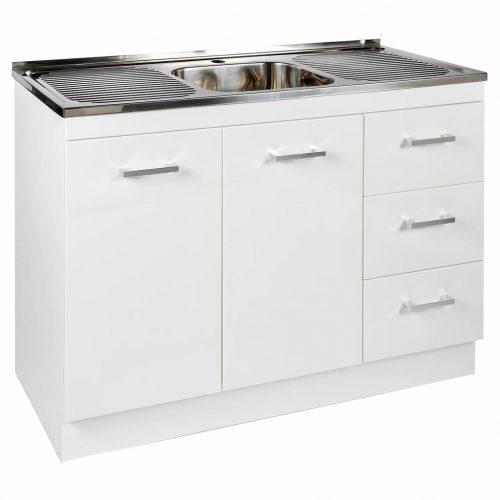 Kitchenette Sink & Cabinet