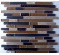 Glass Mosaica Travertine Marble Mix
