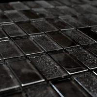 Glass Mosaica Checkered Slate