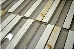 Glass Mosaica Banda Cream tile
