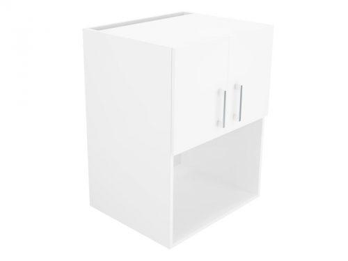 Wall Cupboard Microwave Hutch 60cm