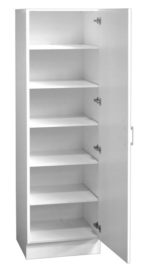 Pantry/Linen Cupboard Single Door 60cm with Extra Depth