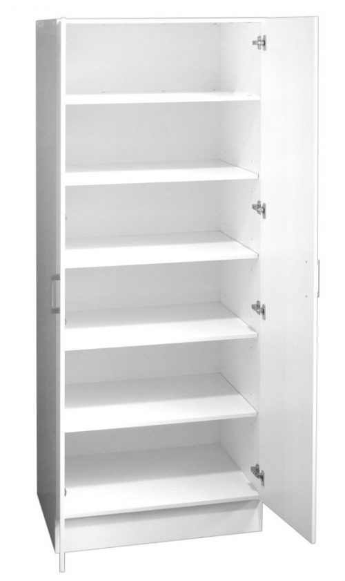 Pantry/Linen Cupboard Double Door 80cm with Extra Depth