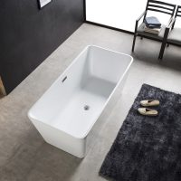 Galaxy Square Freestanding Bath