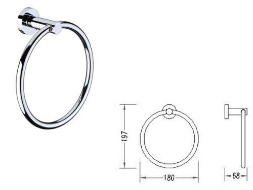 Round Towel Ring