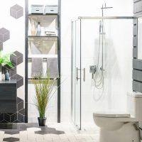 Torquay Square Slider Shower