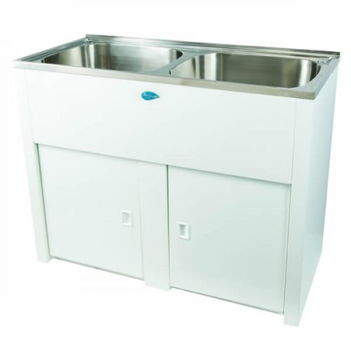 Nugleam Twin Laundry Cabinet & Sink