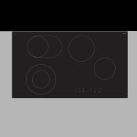 90cm Ceran Electric Cooktop