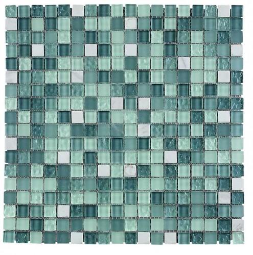 Carrara mosaic tile