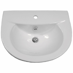 Wendy Wall/Pedestal Basin