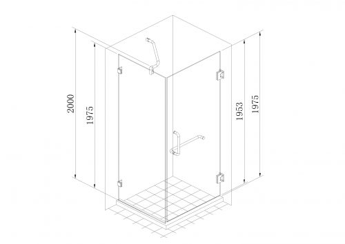 Frameless Shower Door Specs