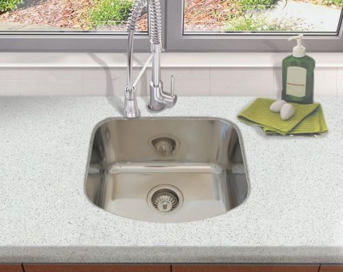 Milan Single Bowl Undermount Sink