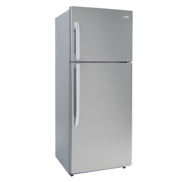 420 Litre Refrigerator Steel Look Finish