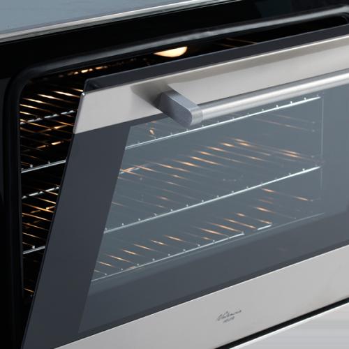 90cm Multifunction Electric Oven - Door Open