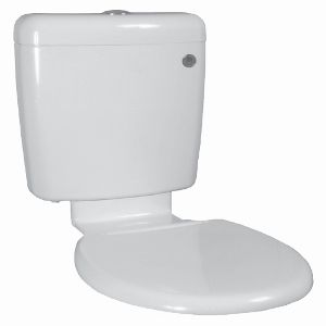 Universal Plastic Cistern, Seat and Link
