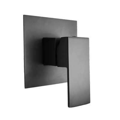 Cube Shower Mixer (Satin Black)