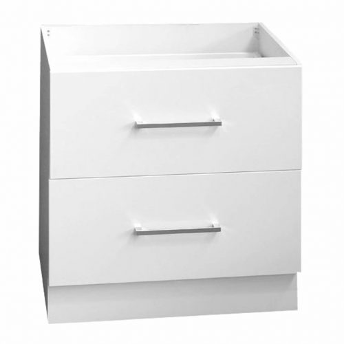 Base Two(2) Drawer Pot Drawer 80cm