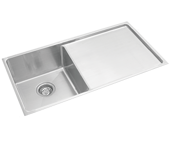 Excellence Squareline Singe Bowl and Drainer