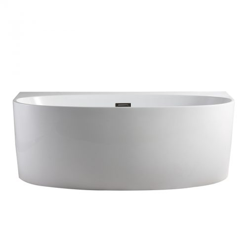 Morocco Back to the Wall Freestanding Bath