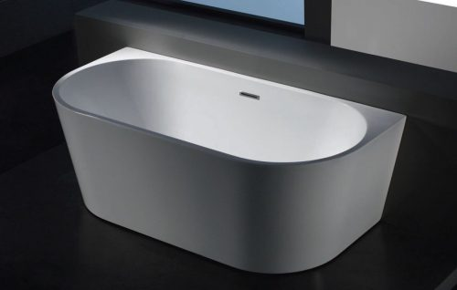 Morocco Back to the Wall Free Standing Bath