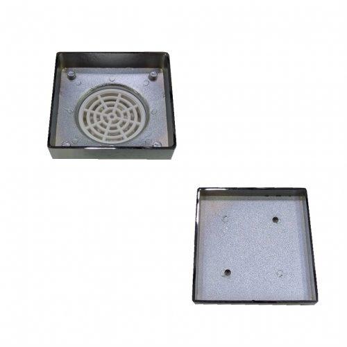 Square Tile Floor Grate (100mm)