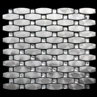 Bling Silver mosaic tile