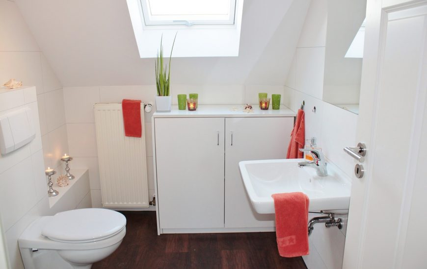 How to make the most of a small bathroom