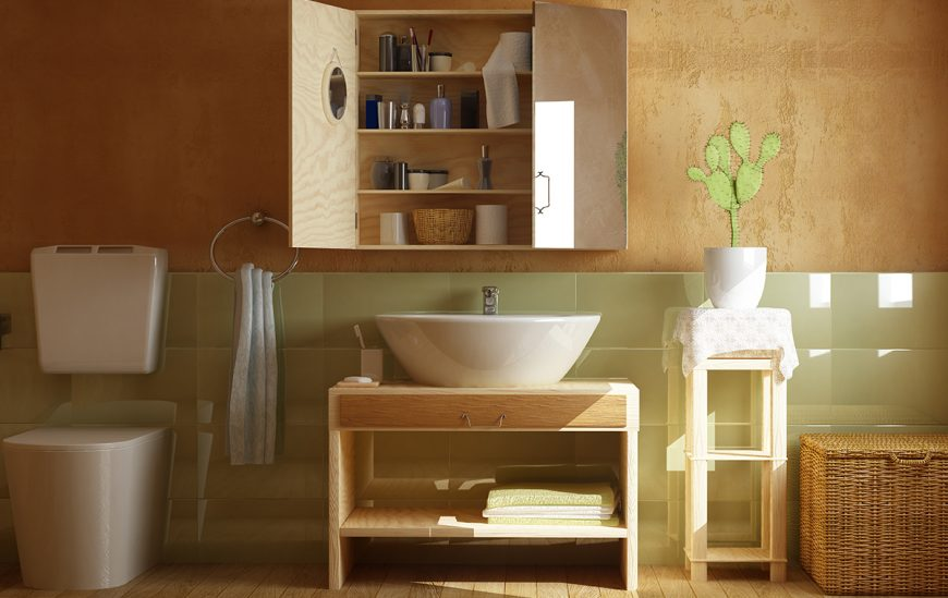 Why bathroom mirror cabinets may be the answer to your problems!