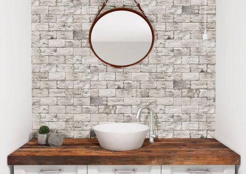 Aged Wood White Tile Perth Discount Guildford feature wall