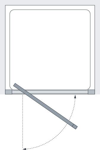 pivot door screen specs