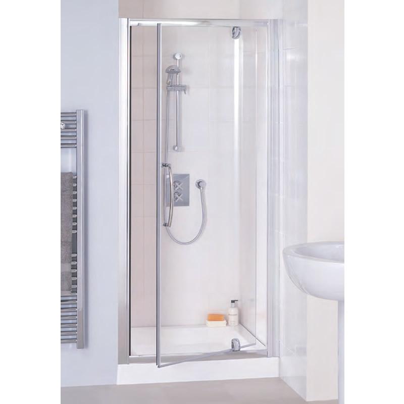 Pivot door shower screen