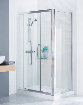 Slider Door Shower Screen Side Panel
