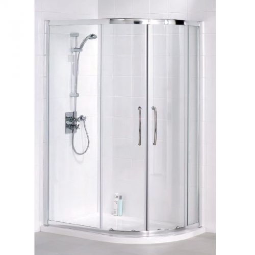 Offset quadrant shower
