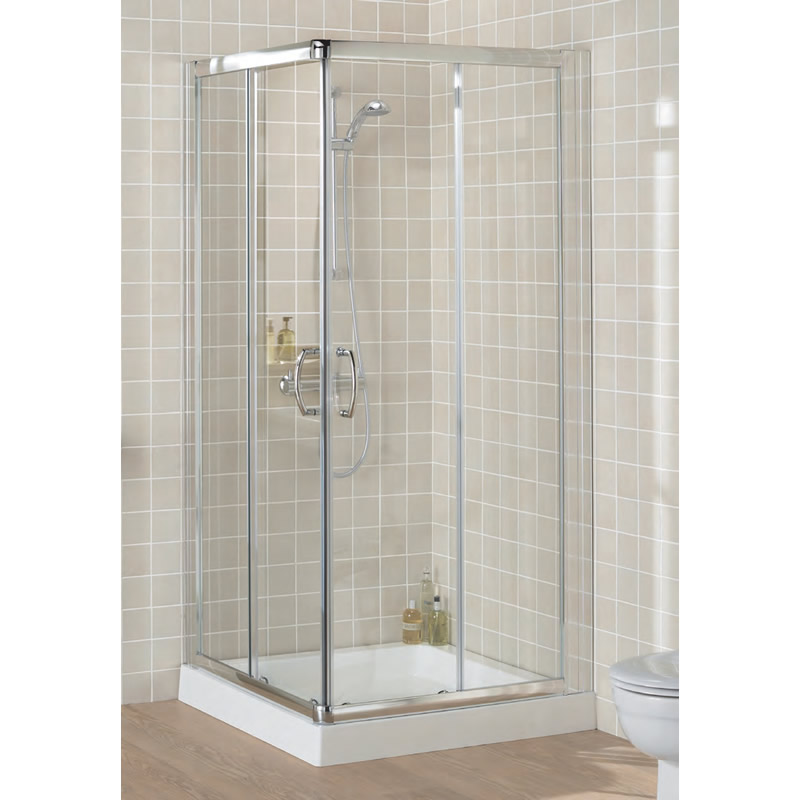 Corner Entry Shower Screen