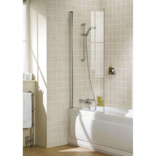 Square Panel Bath Screen