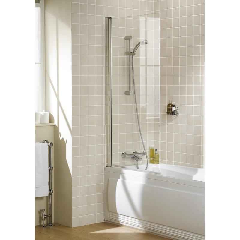 Square Panel Bath Screen