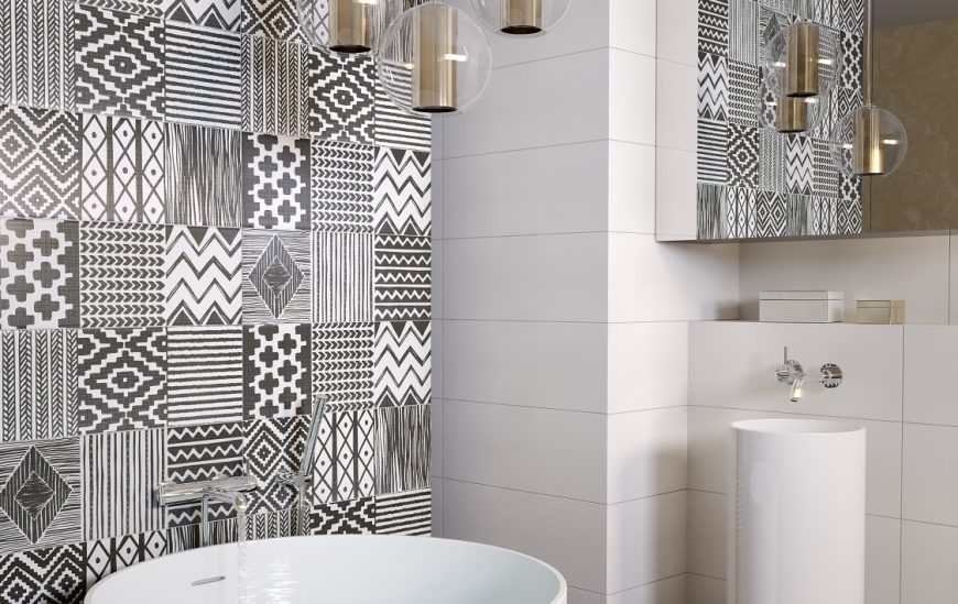 Trend alert: Patterned tiles are definitely IN