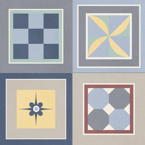 Grenier Mix Patterned tile