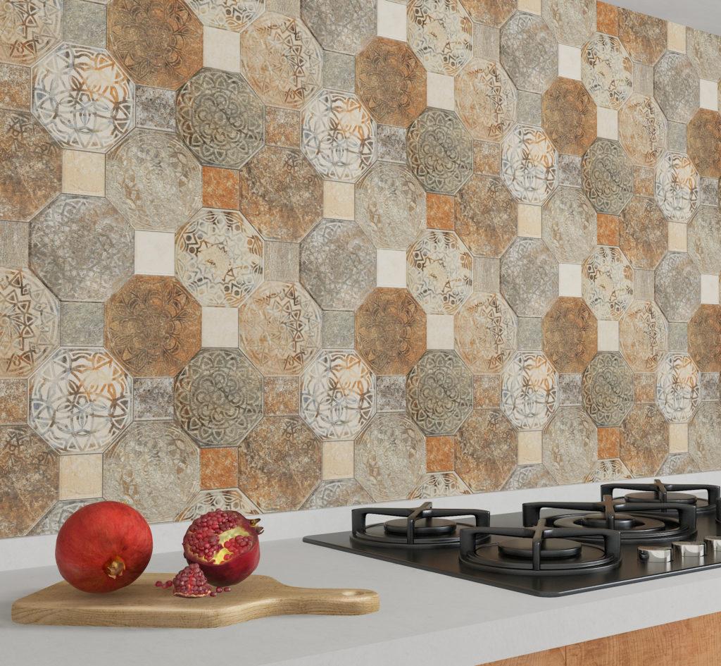 Silex Decor on kitchen wall