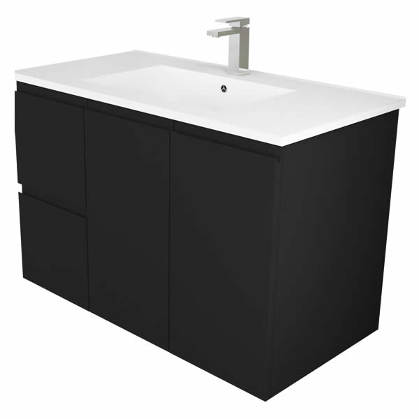 Michelle 90cm Matt Black