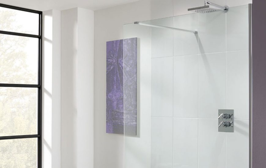 A simple guide to fitting a shower panel, DIY style!