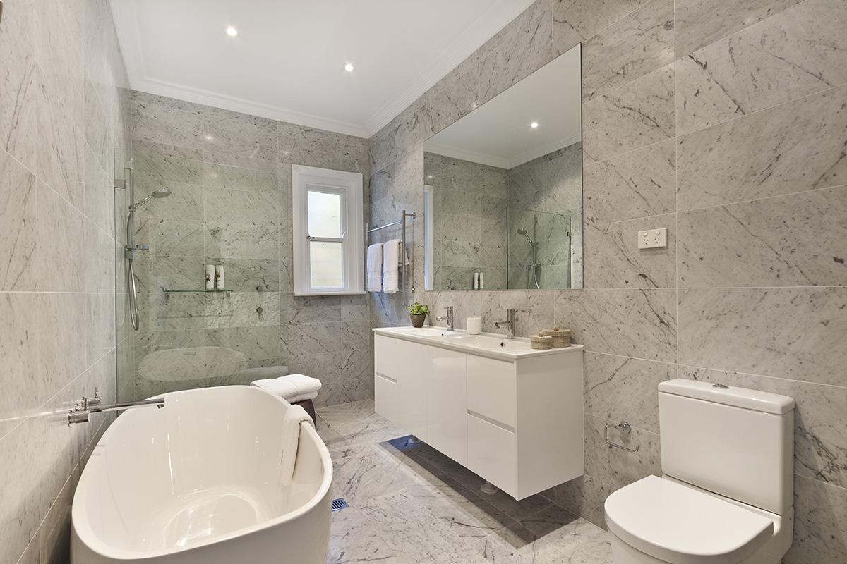 modern bathroom perth