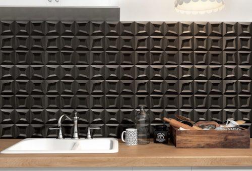 Frame Black Tile discount perth Feature geometric