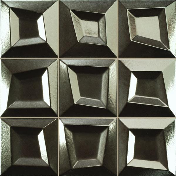 Frame Antracita feature tile