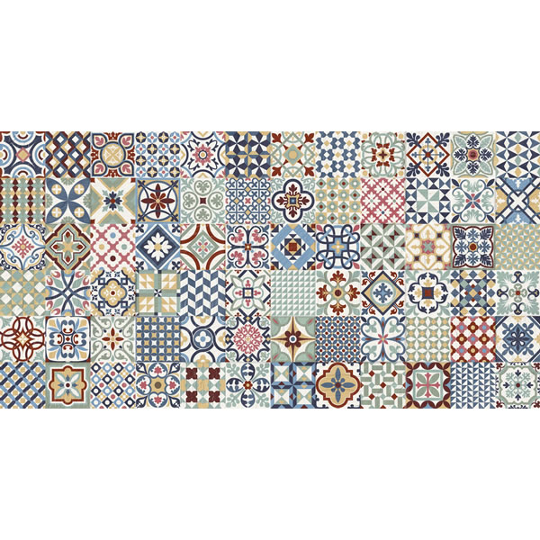 Deco Heritage Multi Mix tile
