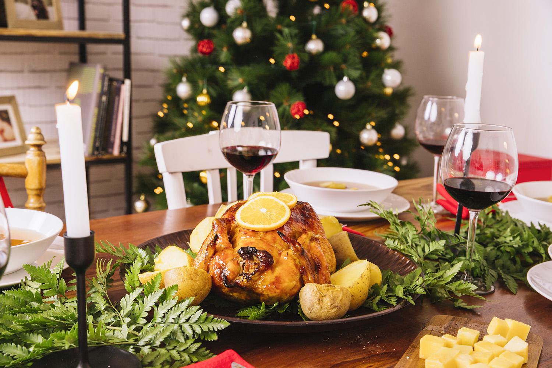 christmas oven food