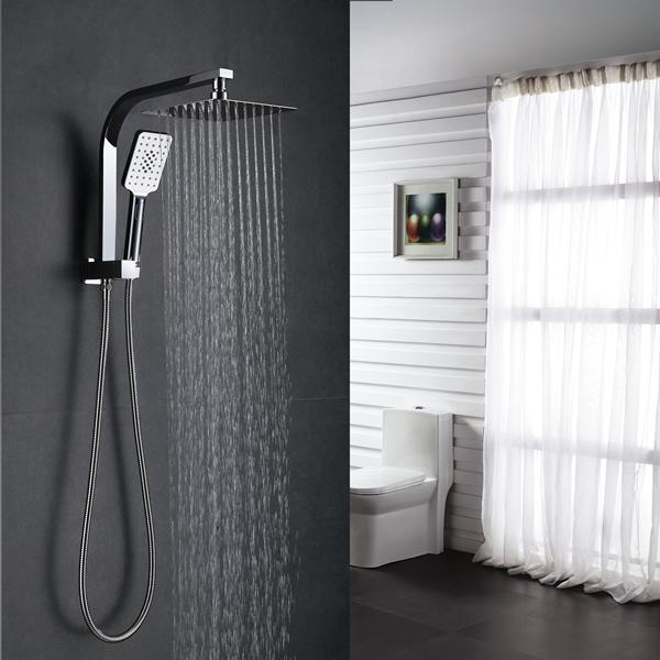 Roma Square Twin Shower